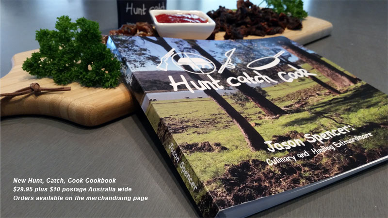 Hunt, Catch Cook's NEW COOKBOOK available here